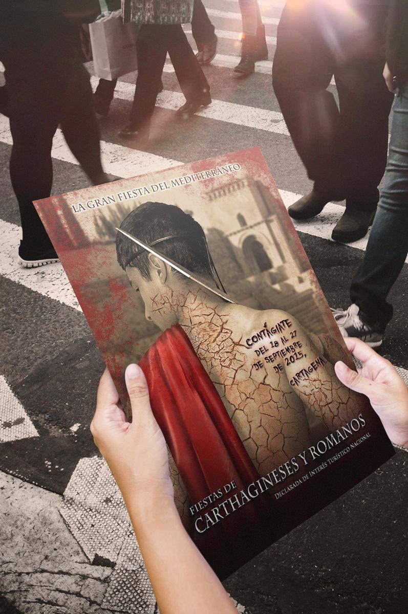 Cartel Ganador Carthagineses y Romanos 2015 – Cartagena