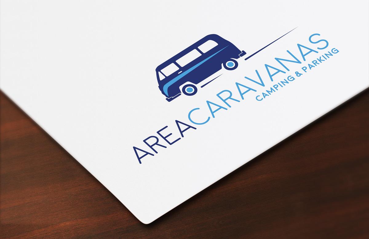 Diseño de logotipo Área Caravanas